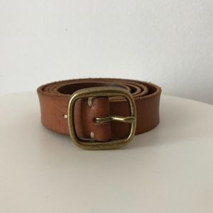 """Banana Republic leather belt, 1"""" wide, size S, NEW"""